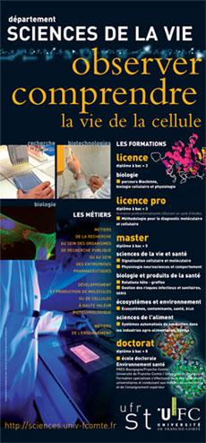 Département des Sciences de la Vie / LMD3 / Biologie Biochimie