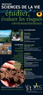 Banner Sciences de la vie - Ecologie