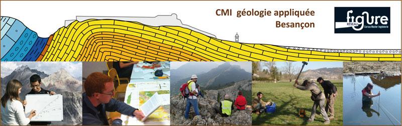 Cursus de master en ingénierie géologie appliquée Besançon