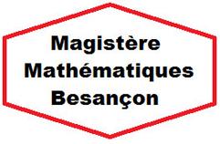 magistère de mathématiques Besançon